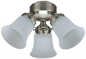 Picture of Flush 3 Light Fan Light (3 Light Kit) Hunter Fans