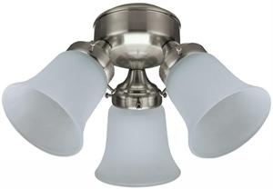 Picture of Flush 3 Light Fan Light (3 Light Kit) Hunter Fans