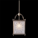 Picture of Charles Etched Glass 1 Light Square Lantern (HL-GE) Robert Kitto
