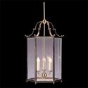 Picture of Charles Bevelled Glass 3 Light Medium Hexagonal Lantern (HLXM-GB) Robert Kitto