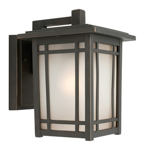 Picture of Sierra Large 1 Light Exterior Wall Light (MX4111L) Mercator Lighting