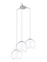 Picture of Bolsano 3 Light Glass Pendant (92762) Eglo Lighting