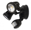 Picture of FORTRESS Twin 2x13W LED FloodLight With Sensor (MLXF302S MLXF502S) Martec Lighting