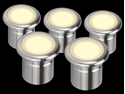 Picture of Vivid LED Deck Lights Five Pack (21101 21102) Domus Lighting