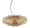 Picture of Agry 1 Light Wood Veneer Pendant Fiorentino Lighting