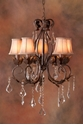 Picture of Provincial Style Pendant (DO5329/P5/SHADE) MDA Lighting