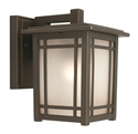 Picture of Sierra Small 1 Light Exterior Wall Light (MX4111S) Mercator Lighting