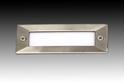 Picture of Ben Rectangular Mini Exterior LED Steplight (LED316) Gentech Lighting