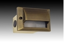 Picture of Turbo Recessed Brass 12V Eyelid Wall Light (B-D007) Gentech Lighting