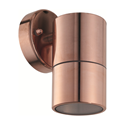 Picture of Elements Pure Copper Single Fixed Exterior Wall Light (AWL-06-CP) Aqualux Lighting