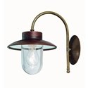 Picture of CALMAGGIORE Exterior Brass Copper Wall Light (230.03.ORB_T) IL Fanale