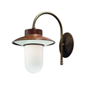 Picture of CALMAGGIORE Exterior Brass Copper Wall Light (230.04.ORB_T) IL Fanale