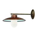 Picture of CALMAGGIORE Exterior Brass Copper Wall Light (236.03.ORB_T) IL Fanale