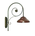 Picture of COLONIALE Exterior Brass Copper Wall Light (241.05.OR) IL Fanale