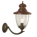 Picture of VENEZIA Exterior Brass Copper Wall Light (248.06.ORB_T) IL Fanale