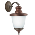 Picture of VENEZIA Exterior Brass Copper Wall Light (248.09.ORB_T) IL Fanale