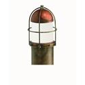 Picture of GARDEN Exterior Brass Copper Bollard Light (245.21.ORB_T) IL Fanale
