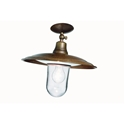 Picture of BARCHESSA Exterior Brass Copper Ceiling Light (220.13.ORB_T) IL Fanale