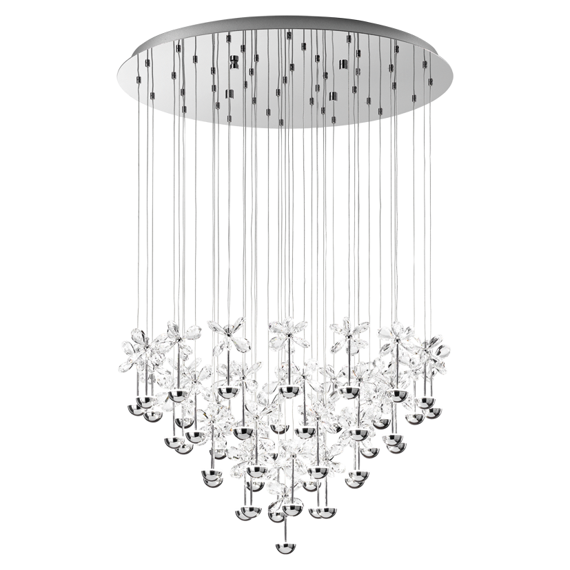 Picture of pianopoli 43 light led pendant 93661 eglo lighting