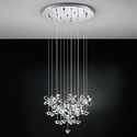 Picture of Pianopoli 15 Light LED Pendant (93662) Eglo Lighting