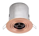 Picture of Avoca Solid Copper 12V Adjustable Recessed Down Light Fitting (S117C) Seaside
