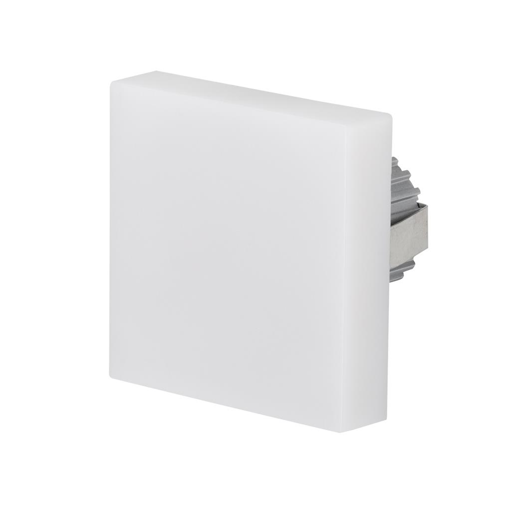 Northern lighting online shop lighting outdoor lighting light picture of chill square interior semi recessed 240v led wallstep light 19969 mozeypictures Choice Image