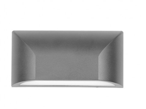 Picture of Bloc Double Insulated Exterior 5w LED Wall Light Telbix