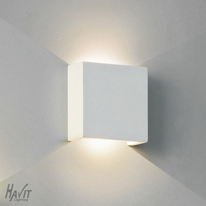 Northern lighting online shop lighting outdoor lighting light picture of candy square plaster led wall light hv8061 havit lighting mozeypictures Choice Image
