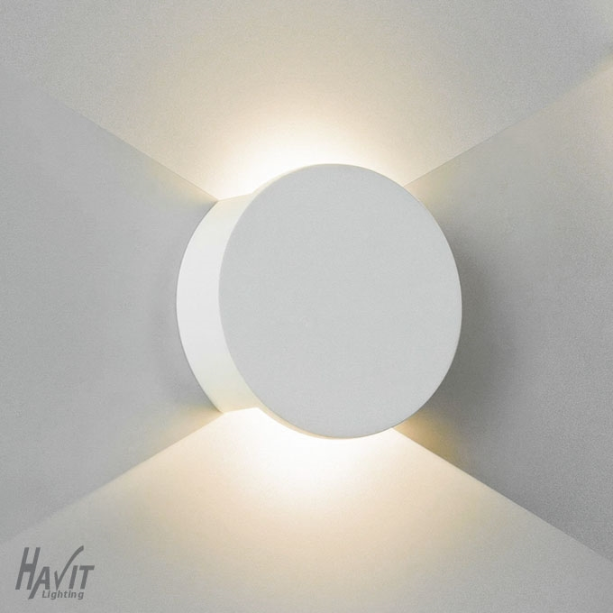 Northern lighting online shop lighting outdoor lighting light picture of candy round plaster led wall light hv8060 havit lighting aloadofball Choice Image
