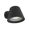 Picture of Cairns Black 240V 1 Light Exterior Wall Light Cougar Lighting
