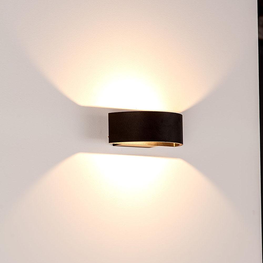 Northern lighting online shop lighting outdoor lighting light picture of rond exterior half circle updown led wall light 240v 9w aloadofball Images