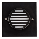 Picture of Recreo Exterior Square Recessed LED Wall/Step Light (HV3219-BLK-SQ) Havit Lighting