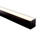 Picture of Black Square LED Profile (HV9693-6070-BLK) Havit Lighting