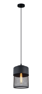 Picture of Chester 18 1 Light Pendant (OL63251BK) Oriel Lighting
