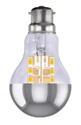 Picture of 5.5W GLS Silver Crown LED Dimmable Lamp