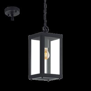 Picture of Alamonte 1 Exterior Pendant Light (94788) Eglo Lighting