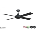 Picture of Lifestyle 1300MM Black Ceiling Fan (DLS134M) Martec