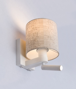 Picture of BRIGHTON E27 Wall Lamp+Adjustable Reading (BRIGHTON01, BRIGHTON02) Light CLA Lighting