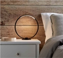 Picture of Frame-Circle Table Lamp with LED Strip Light