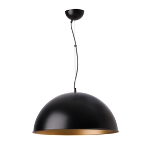 Picture of Dome Shape Pendant Black / Gold ( PD038P) Robert Kitto