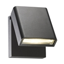 Picture of 240v Diego Exterior 7W LED Adjustable Wall Light (MXD6107BLK) Mercator Lighting