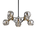 Picture of Annabel 8 Light Pendant (Annabel PE08-BK) Telbix