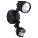 Picture of Fortress II 15W Tricolour LED Single Exterior Security Light With PIR Sensor (MLXF3451S) Martec