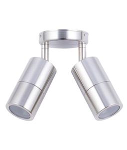 Picture of Exterior 316SS 240V Double Adjustable Wall Pillar Light (PG2ASS) CLA Lighting