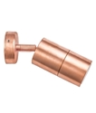 Picture of Exterior Solid Copper 240V Single Adjustable Wall Pillar Light (PG1AC) CLA Lighting