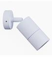 Picture of Exterior White 240V Single Adjustable Wall Pillar Light (PG1AWH) CLA Lighting