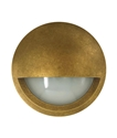 Picture of Exterior Antique Brass 12V LED Surface Mounted Step Light (STE20) CLA Lighting