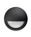 Picture of Exterior Black 240V LED Surface Mounted Step Light (STE15) CLA Lighting