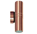 Picture of Bondi 2 Solid Copper 240V Fixed Up/Down Wall Light (S105C) Seaside