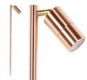 Picture of Ellis Exterior Solid Copper 12V Single Adjustable Spike Spotlight  (S138C) Seaside Lighting